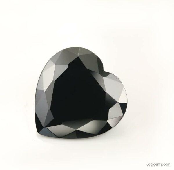 black heart diamond