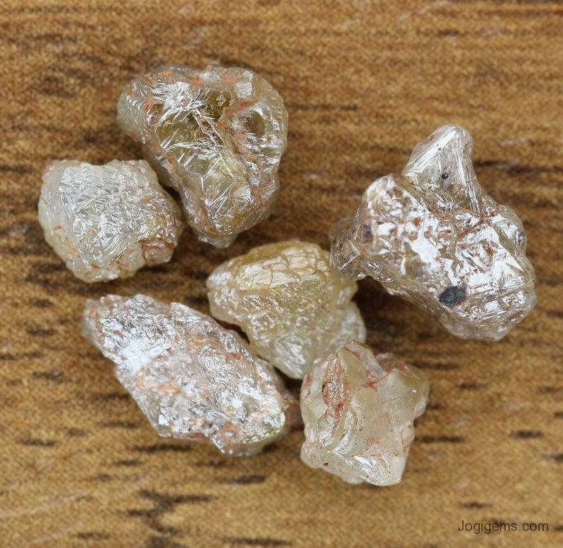 Industrial Grade rough diamond jewelry