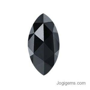 marquise cut black diamond