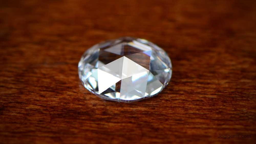 Rose Cut Diamond Size
