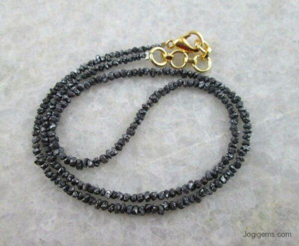 black diamond beads