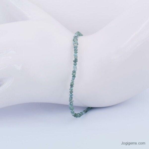 uncut blue diamond