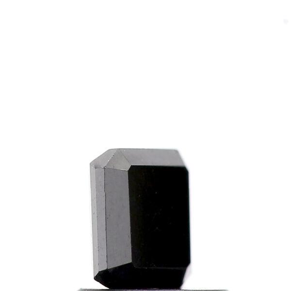 square emerald black diamond