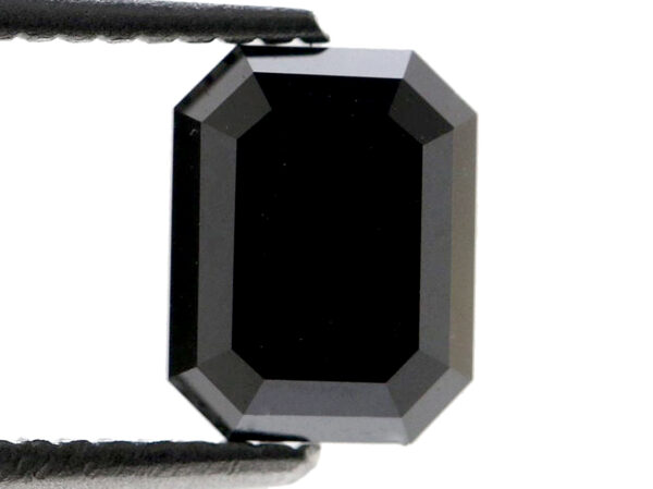 2 Carat Emerald Black Diamond