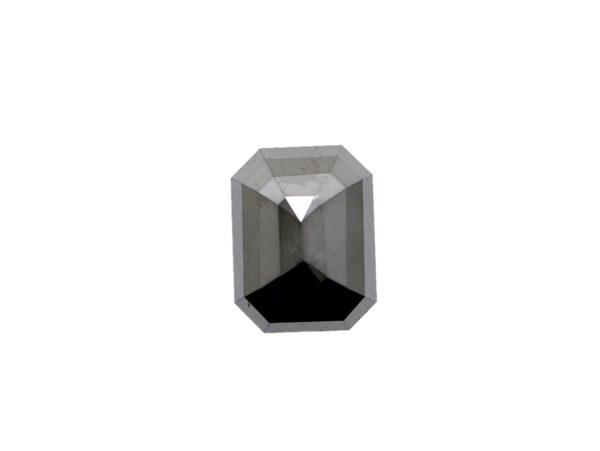 Emerald Black Diamond For Pendant