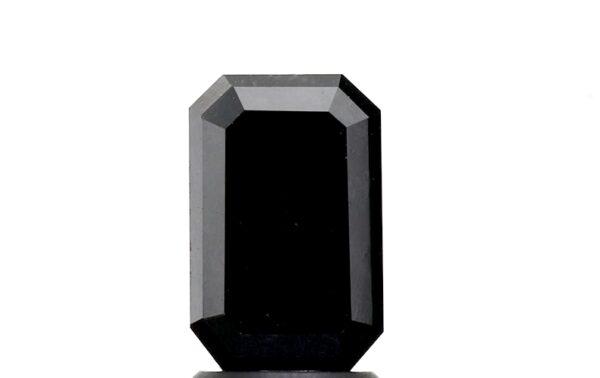 black diamond emerald 2 carat
