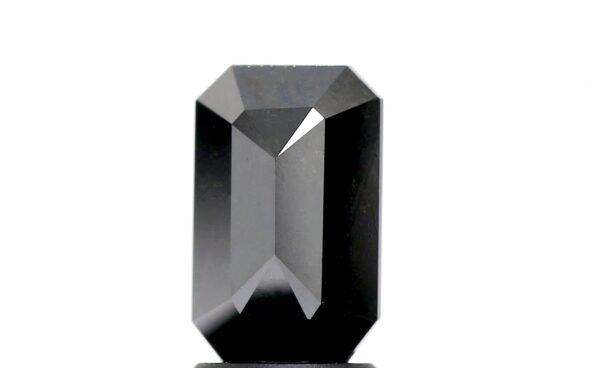 black diamond emerald back view
