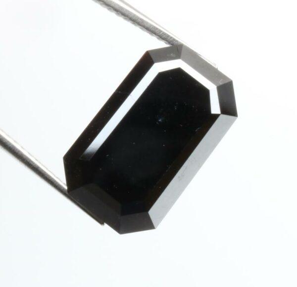 natural emerald black diamond