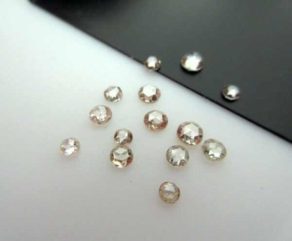 Champagne Rose Cut Diamond