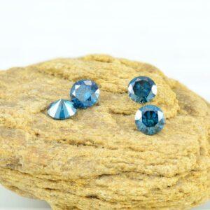 loose blue diamonds