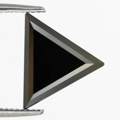 triangle cut black diamond