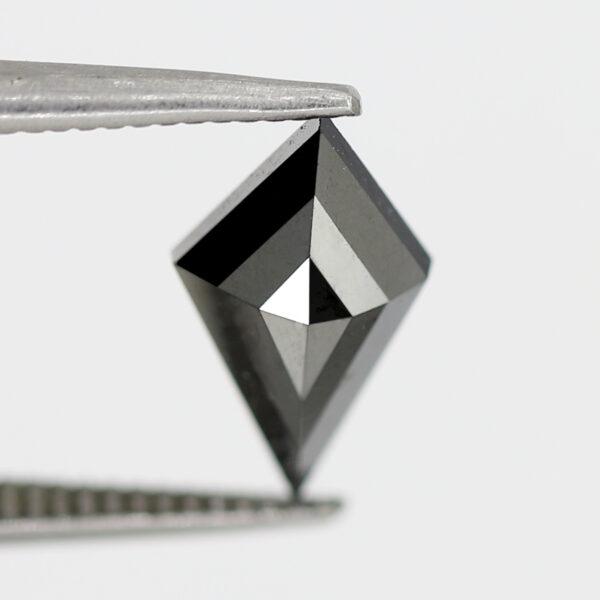 Stunning Black Diamond Kite Shape