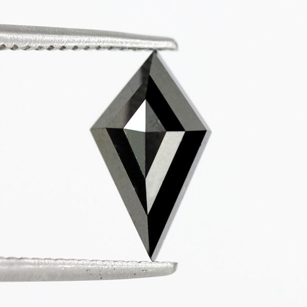 Lovely Black Diamond Kite Shape