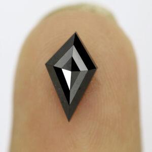 Black Diamond Kite Shape on Finger