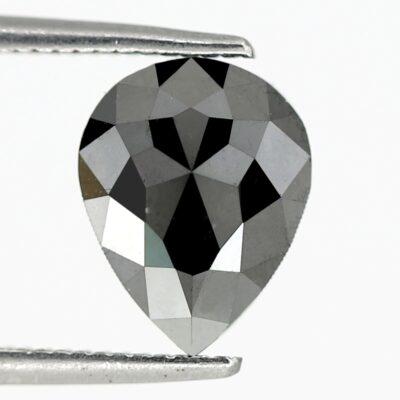 Pear black diamond