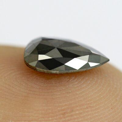 tear drop black diamond