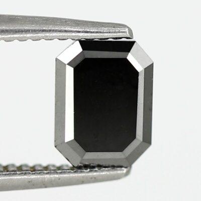 natural black diamond emerald