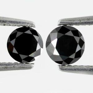 round black diamond pair