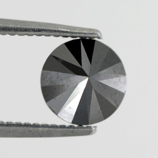 1 carat black diamond