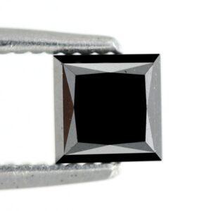Black diamond princess cut