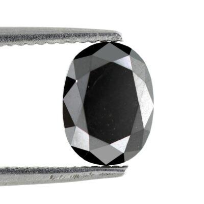 black diamond oval shape