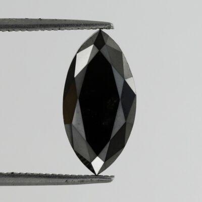 black diamond marquise shape