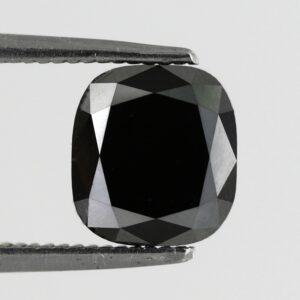 Black Diamond Cushion Cut