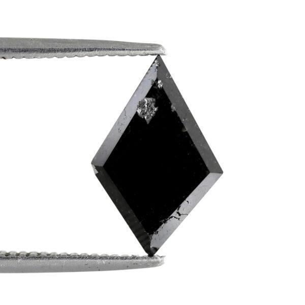 Kite black diamond back side