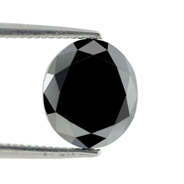 AAA quality Oval Shape Black Diamond