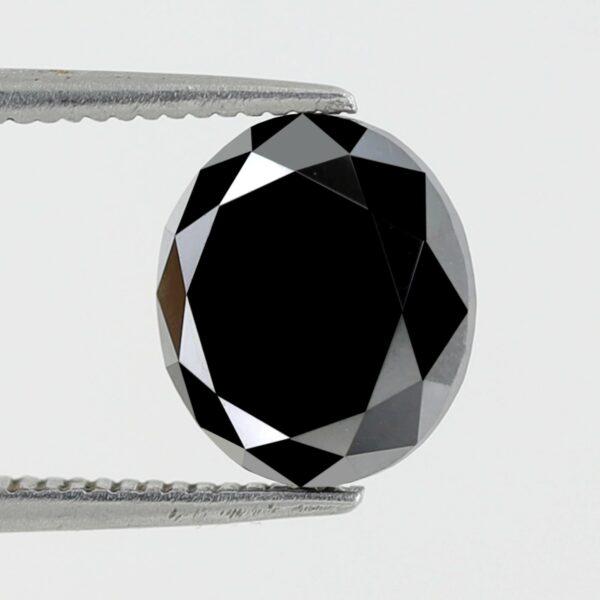Oval Shape Black Diamond For engagement rings
