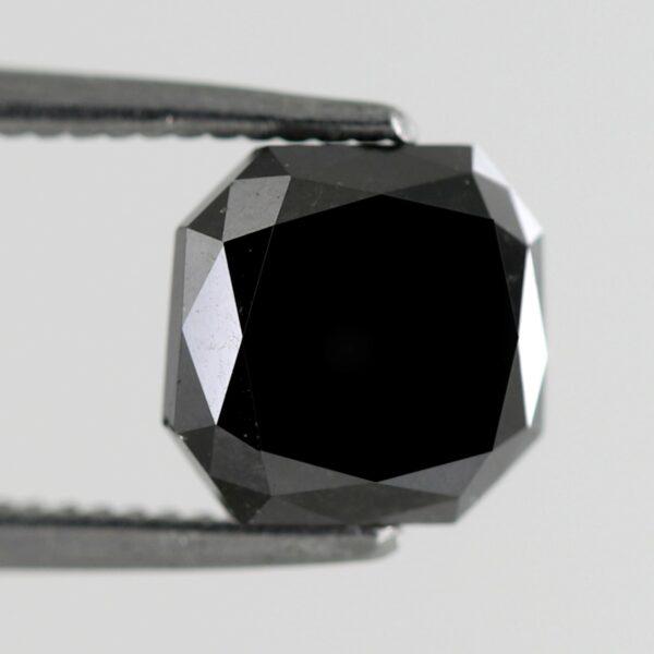 Buy Asscher Shape Black Diamond