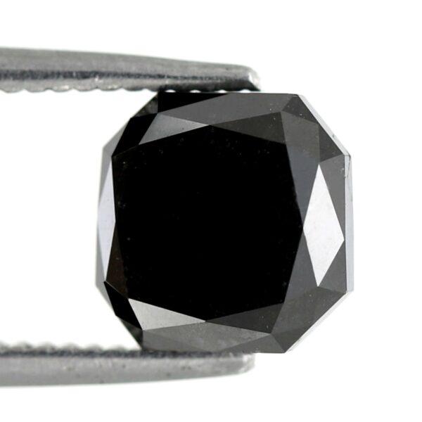 Asscher Shape Black Diamond online